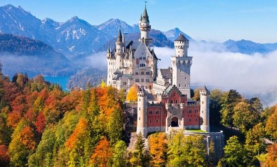 Баварски Замъци и Италия