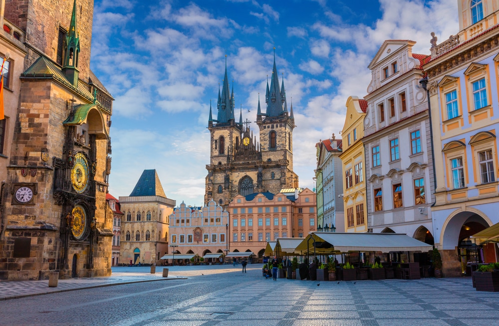 Прага и Будапеща