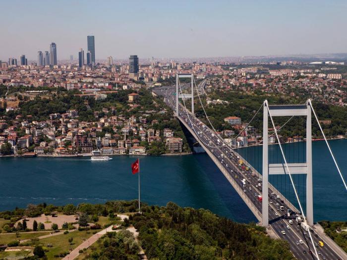 Нова година Истанбул на яхта по Босфора