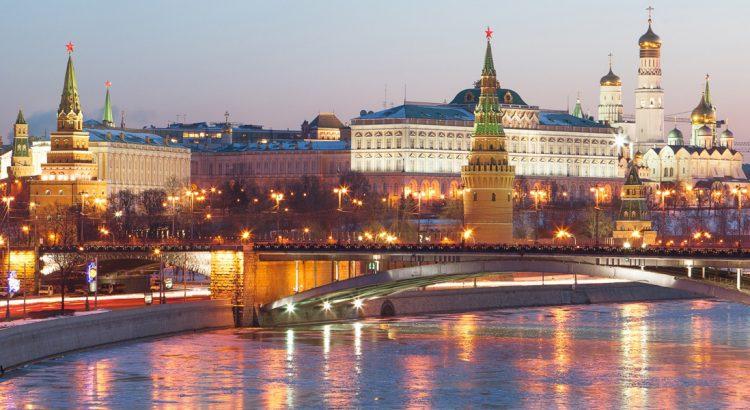 Москва и Санкт Петербург от София