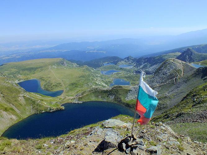 Рилски езера, Рилски манастир и Благоевград